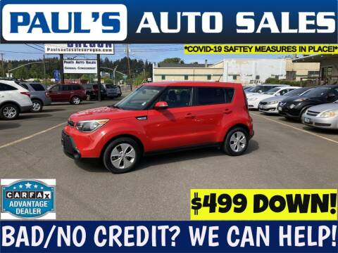 2014 Kia Soul for sale at Paul's Auto Sales in Eugene OR