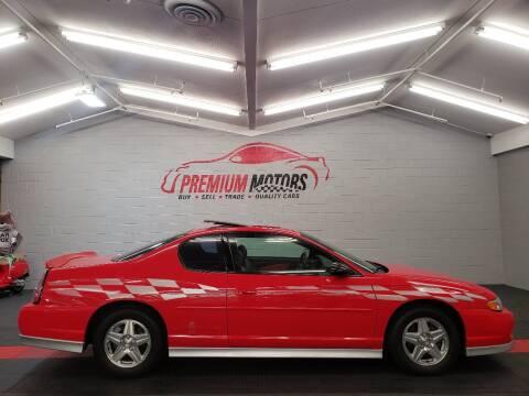 2000 Chevrolet Monte Carlo for sale at Premium Motors in Villa Park IL