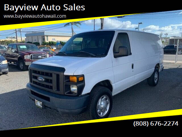 2009 Ford E-Series Cargo for sale at Bayview Auto Sales in Waipahu HI