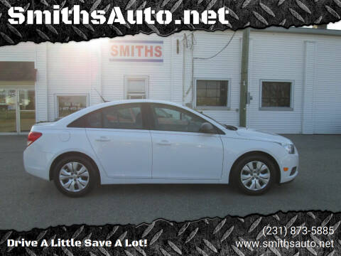 2013 Chevrolet Cruze for sale at SmithsAuto.net in Hart MI