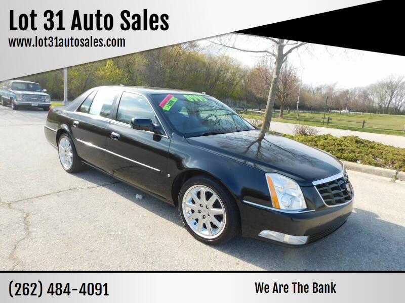 2011 Cadillac DTS for sale at Lot 31 Auto Sales in Kenosha WI