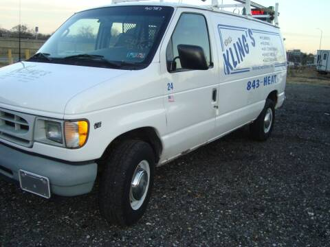 2002 Ford E-Series Cargo for sale at Branch Avenue Auto Auction in Clinton MD