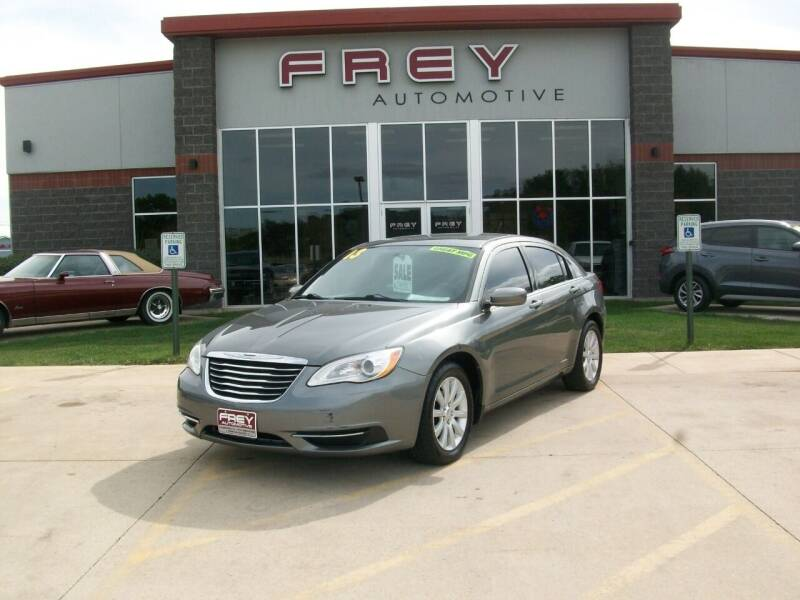 2013 Chrysler 200 for sale at Frey Automotive in Muskego WI