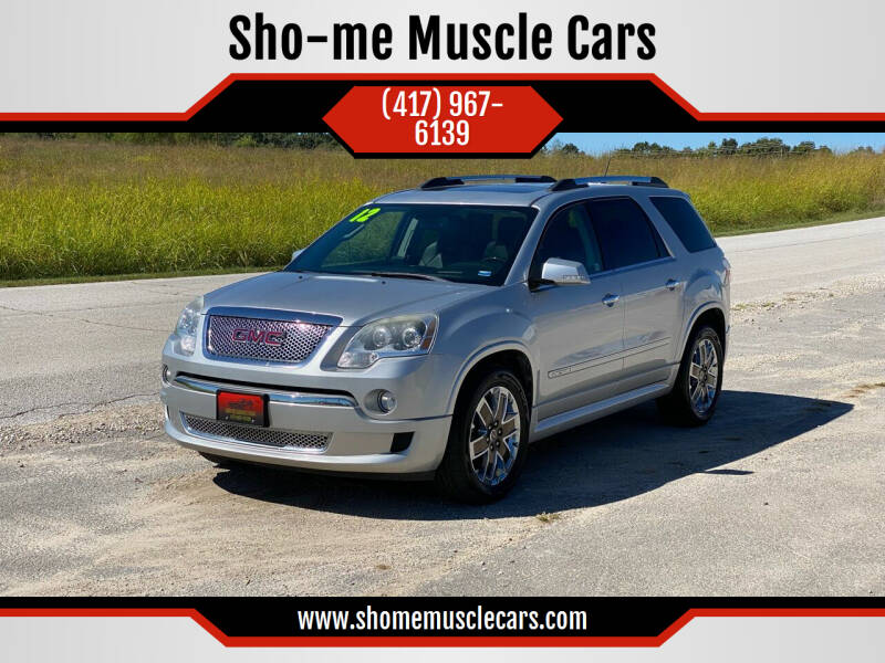 2012 GMC Acadia for sale in Rogersville, MO