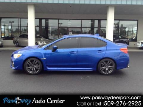 2017 Subaru WRX for sale at PARKWAY AUTO CENTER AND RV in Deer Park WA
