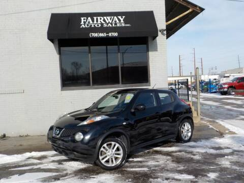 2014 Nissan JUKE for sale at FAIRWAY AUTO SALES, INC. in Melrose Park IL