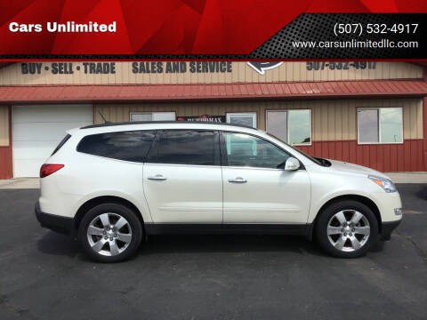 2011 Chevrolet Traverse for sale at Cars Unlimited in Marshall MN