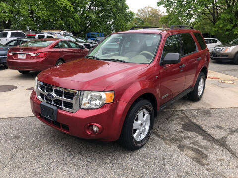 2008 Ford Escape for sale at Barga Motors in Tewksbury MA