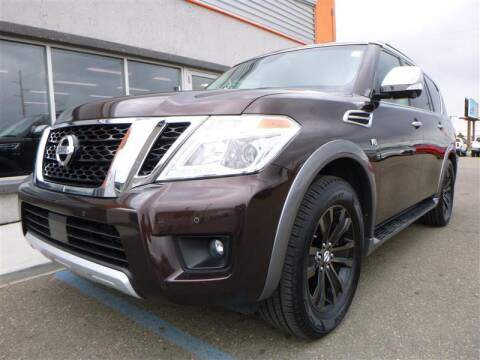 2017 Nissan Armada for sale at Torgerson Auto Center in Bismarck ND