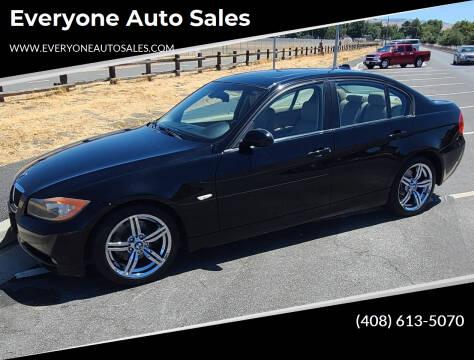 2008 BMW 3 Series for sale at Everyone Auto Sales in Santa Clara CA
