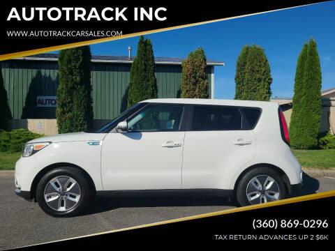 2017 Kia Soul EV for sale at AUTOTRACK INC in Mount Vernon WA