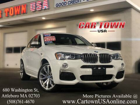 2016 BMW X4 for sale at Car Town USA in Attleboro MA