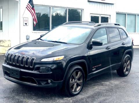 2016 Jeep Cherokee for sale at Torque Motorsports in Rolla MO