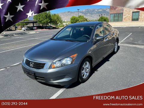 2008 Honda Accord for sale at Freedom Auto Sales in Albuquerque NM
