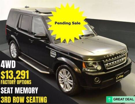 2015 Land Rover LR4 for sale at Car Vision Buying Center in Norristown PA