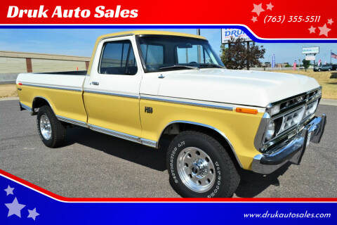 1973 Ford F-250 Ranger  3/4 Ton for sale at Druk Auto Sales in Ramsey MN