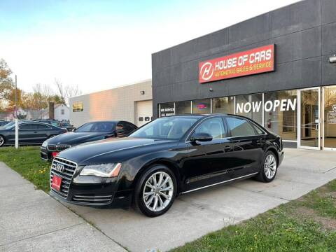 2013 Audi A8 L for sale at HOUSE OF CARS CT in Meriden CT