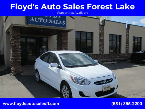 2017 Hyundai Accent for sale at Floyd's Auto Sales Forest Lake in Forest Lake MN