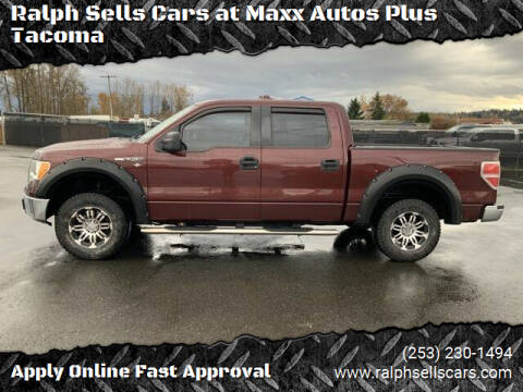 2010 Ford F-150 for sale at Ralph Sells Cars at Maxx Autos Plus Tacoma in Tacoma WA