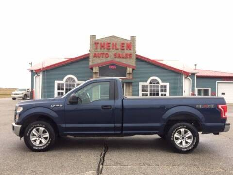 2016 Ford F-150 for sale at THEILEN AUTO SALES in Clear Lake IA