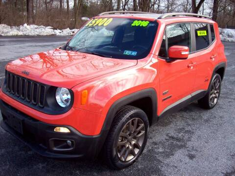 2016 Jeep Renegade for sale at Clift Auto Sales in Annville PA