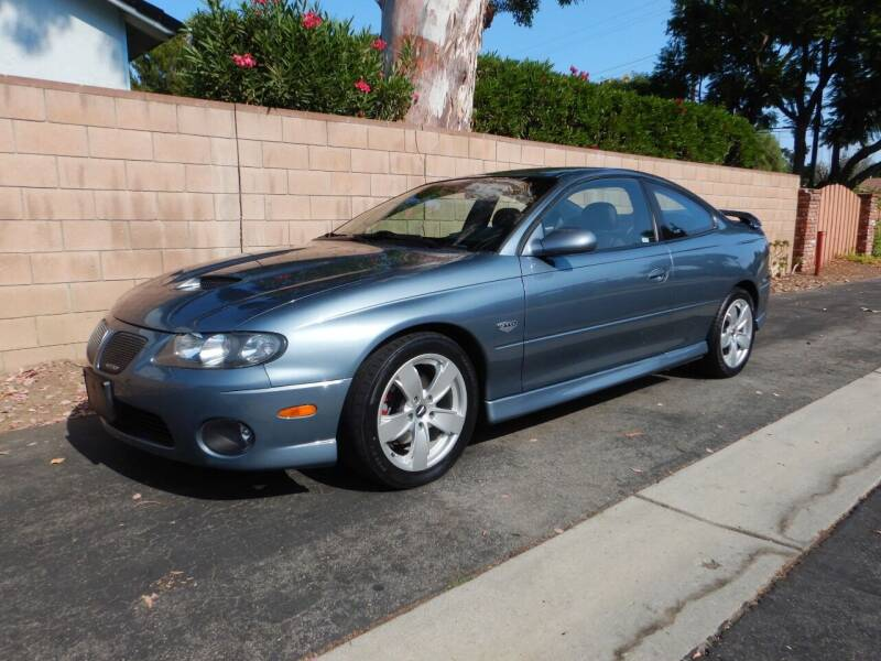 2006 Pontiac GTO for sale at California Cadillac & Collectibles in Los Angeles CA