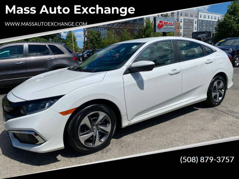 2019 Honda Civic for sale at Mass Auto Exchange in Framingham MA