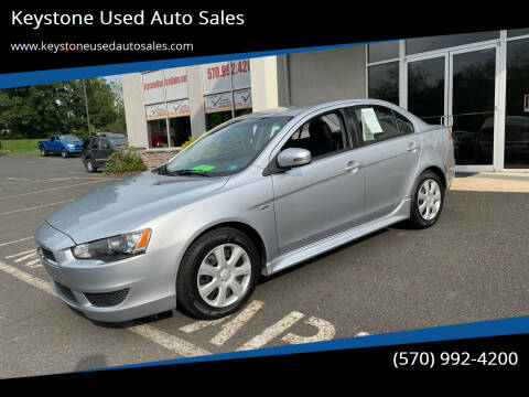 2015 Mitsubishi Lancer for sale at Keystone Used Auto Sales in Brodheadsville PA