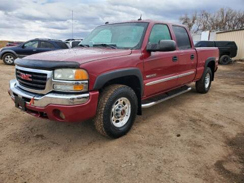 2004 GMC Sierra 2500 for sale at HORSEPOWER AUTO BROKERS in Fort Collins CO