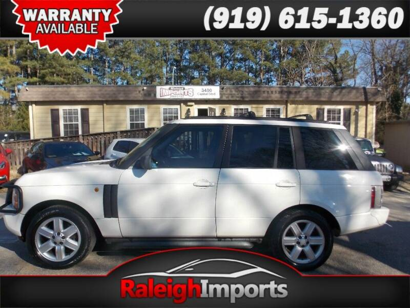 2004 Land Rover Range Rover for sale at Raleigh Imports in Raleigh NC