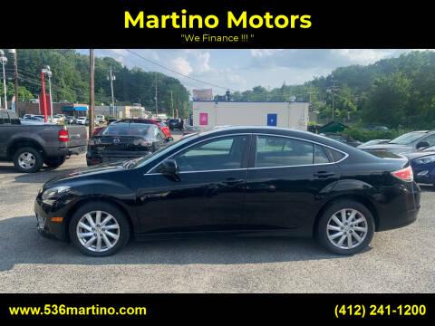 2012 Mazda MAZDA6 for sale at Martino Motors in Pittsburgh PA