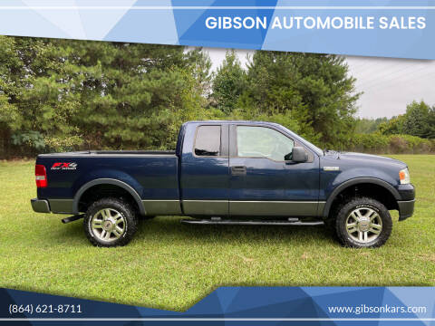 2005 Ford F-150 for sale at Gibson Automobile Sales in Spartanburg SC