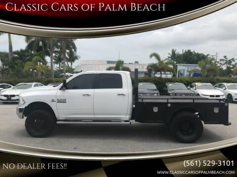 2018 RAM Ram Pickup 3500 for sale at Classic Cars of Palm Beach in Jupiter FL