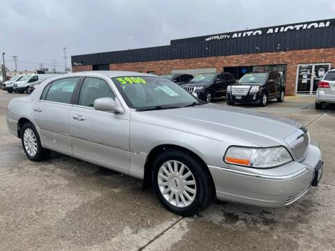 2003 Lincoln Town Car for sale at Motor City Auto Auction in Fraser MI
