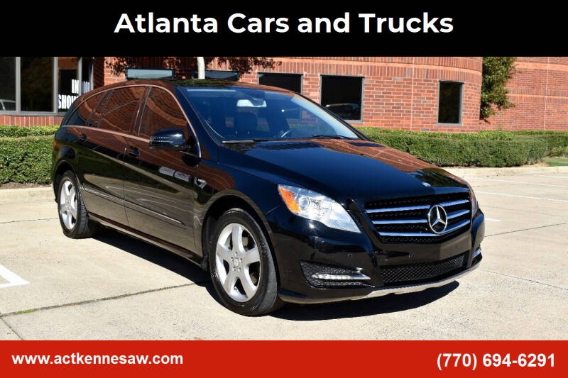 2012 Mercedes-Benz R-Class for sale at Atlanta Cars and Trucks in Kennesaw GA