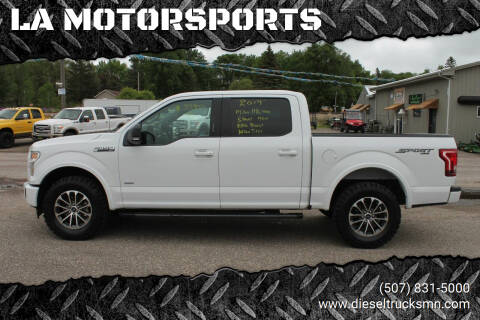 2017 Ford F-150 for sale at LA MOTORSPORTS in Windom MN