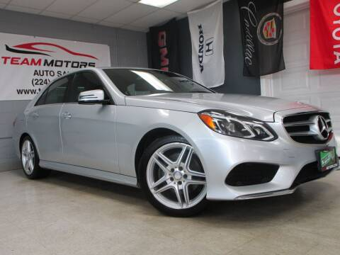 2014 Mercedes-Benz E-Class for sale at TEAM MOTORS LLC in East Dundee IL