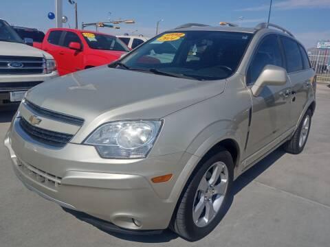 2014 Chevrolet Captiva Sport for sale at Hugo Motors INC in El Paso TX