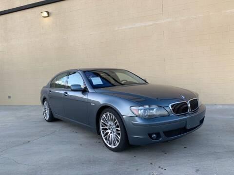 2008 BMW 7 Series for sale at TREE CITY AUTO in Rancho Cordova CA