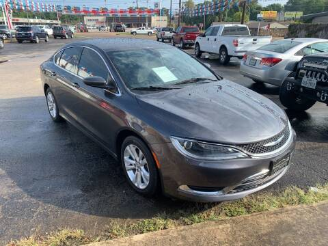 2016 Chrysler 200 for sale at Rutledge Auto Group in Palestine TX