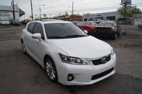2013 Lexus CT 200h for sale at Green Ride Inc in Nashville TN