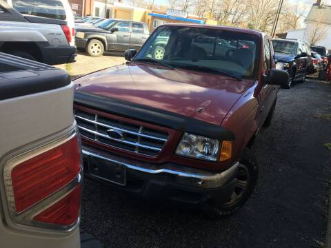 2001 Ford Ranger for sale at Payless Auto Sales LLC in Cleveland OH