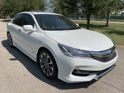 2017 Honda Accord for sale at Prestige Motor Cars in Houston TX