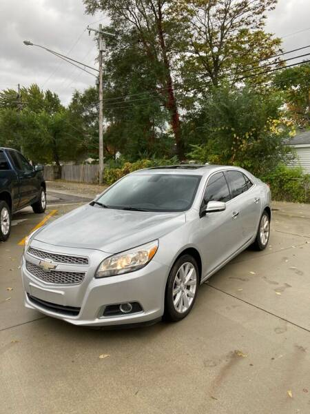2013 Chevrolet Malibu for sale at Suburban Auto Sales LLC in Madison Heights MI