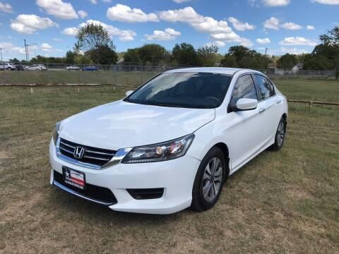 2014 Honda Accord for sale at LA PULGA DE AUTOS in Dallas TX