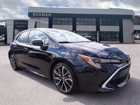 2020 Toyota Corolla Hatchback for sale at BEAMAN TOYOTA - Beaman Buick GMC in Nashville TN