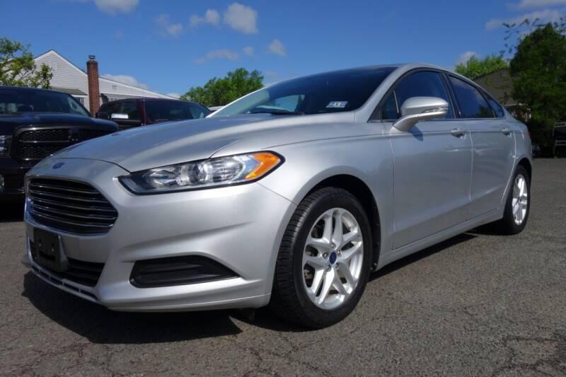 2014 Ford Fusion for sale at Olger Motors, Inc. in Woodbridge NJ