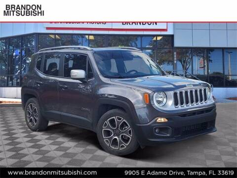 2018 Jeep Renegade for sale at Brandon Mitsubishi in Tampa FL