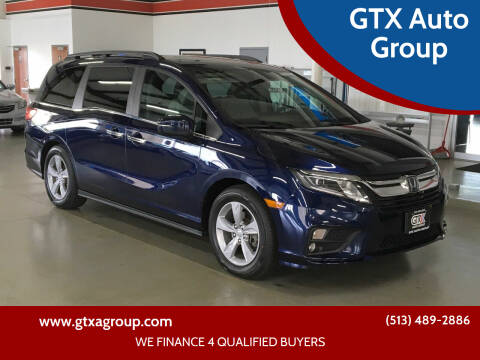 2018 Honda Odyssey for sale at GTX Auto Group in West Chester OH