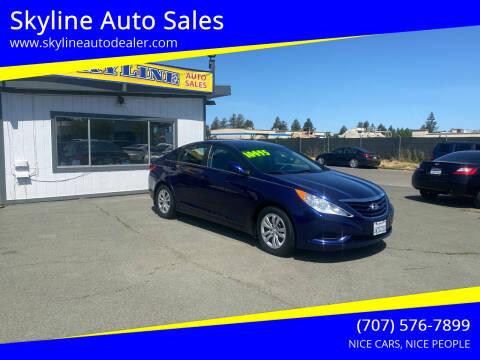 2013 Hyundai Sonata for sale at Skyline Auto Sales in Santa Rosa CA